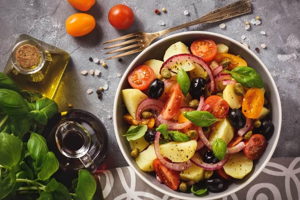 Insalata Pantesca Siciliaanse zomersalade