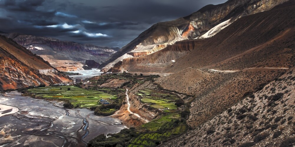 Mustang Valley Nepal