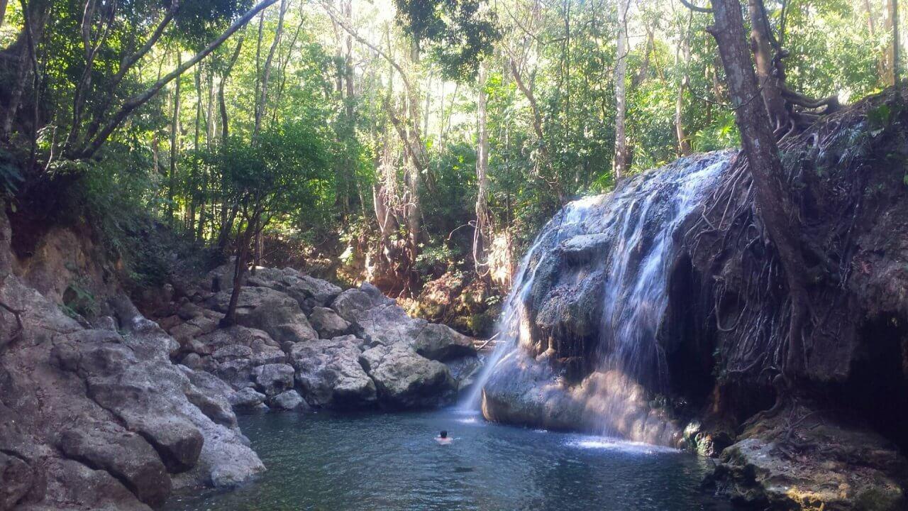Izabal waterval
