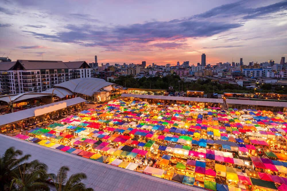chatuchak markt thailand bezoeken