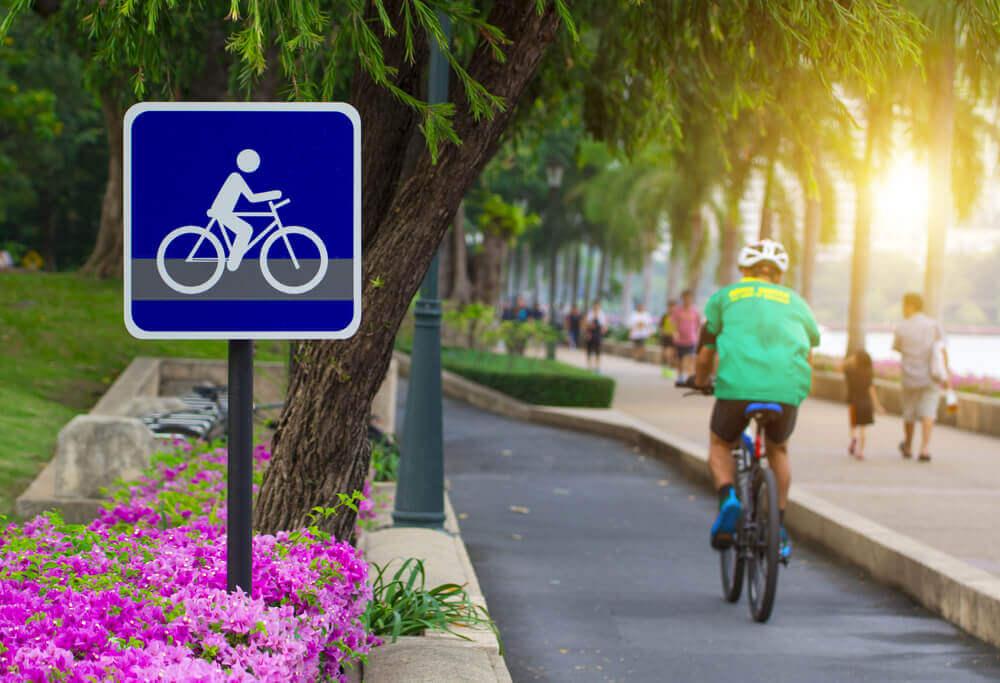 fietsen in thailand bangkok