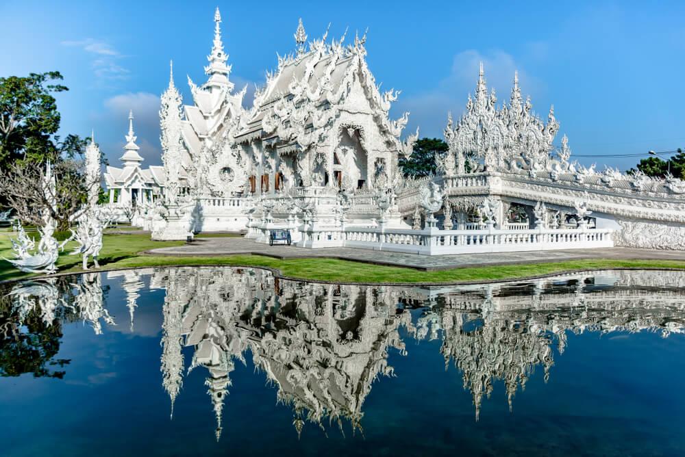 Wat Rong Khun de Hemelse Witte Tempel