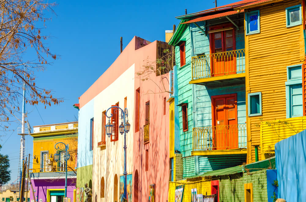La Boca wijk in Buenos Aires