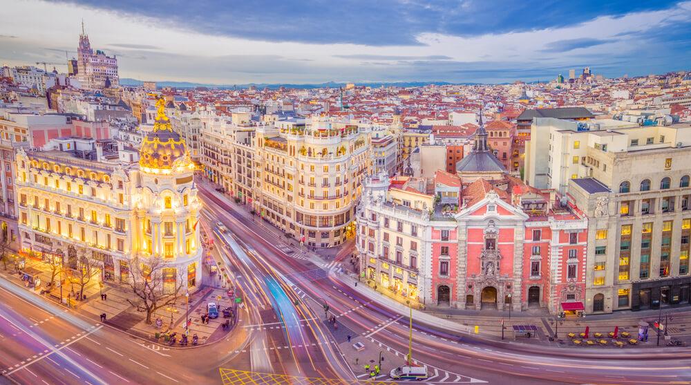 Madrid als een local