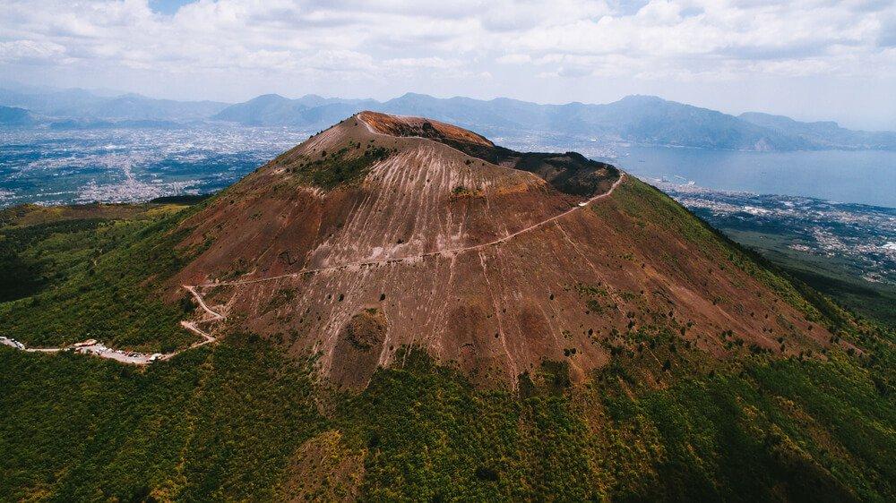 Vesuvius beklimmen