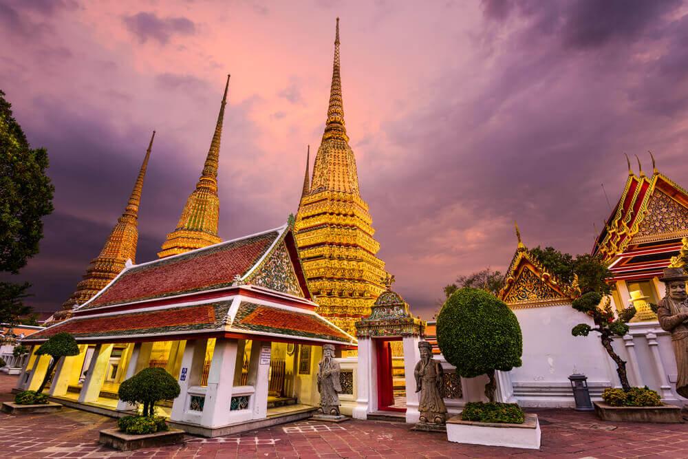 wat pho bangkok thailand bezoeken