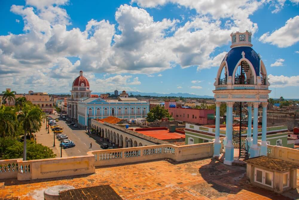 Uitzicht over Cienfuegos, Cuba