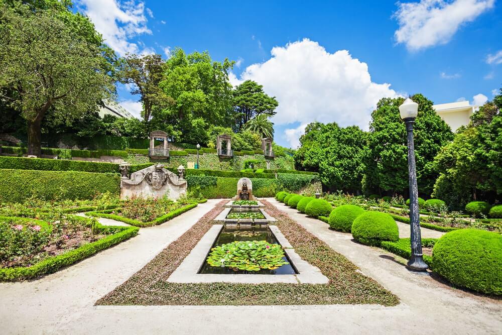 Jardins do Palacio de Cristal in de wijk Ceidofeita, Porto