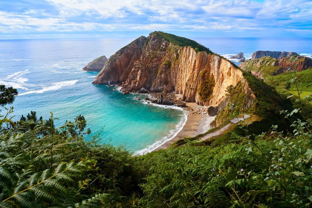 Playa del Silencio Asturie