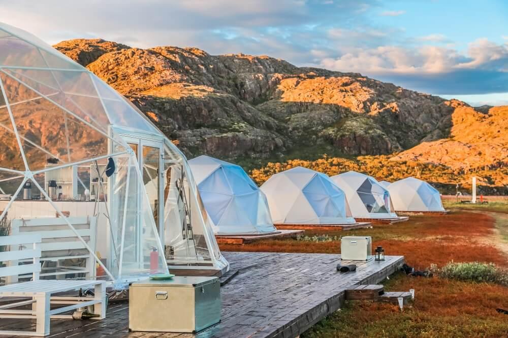 De ontwikkeling van luxe kamperen