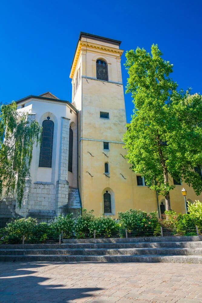 Saint Pierre kathedraal annecy