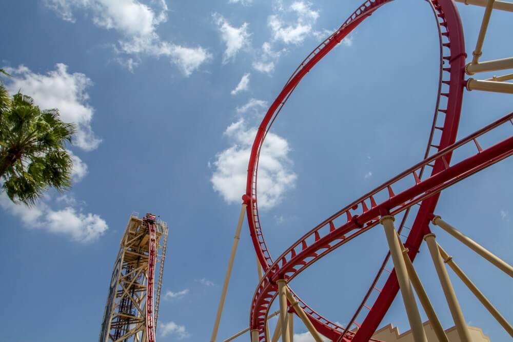 Universal Orlando Resort, Sheikra, de engste achtbaan van Florida, Orlando.