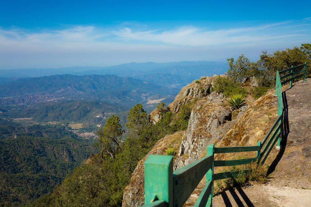 Uitzicht van cerro de la Bufa, Guanajuato.