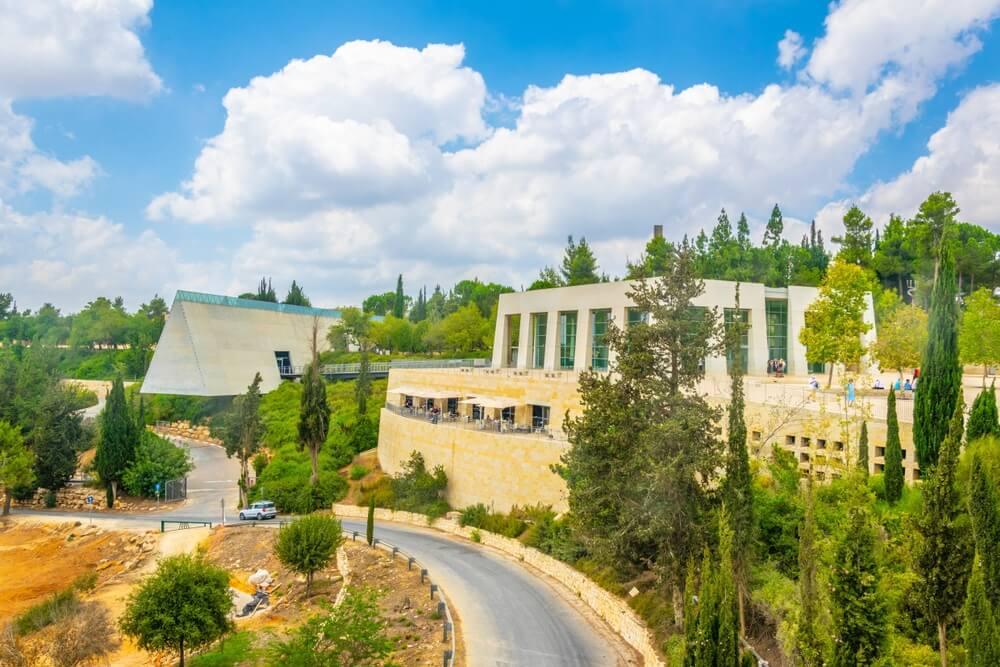 Yad Vashem-gedenkteken in Jeruzalem, Israël.