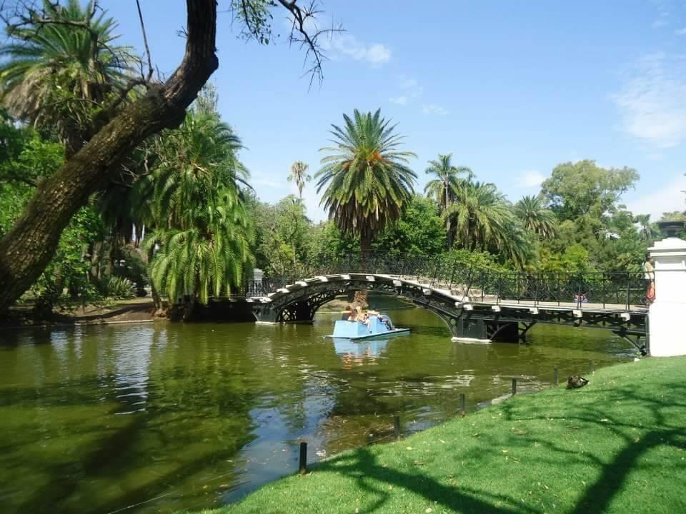 Bosques de Palermo; het grootste park van Buenos Aires.