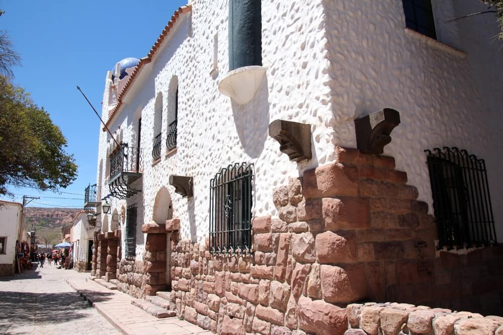 Humahuaca; het oude centrum. Argentinië.