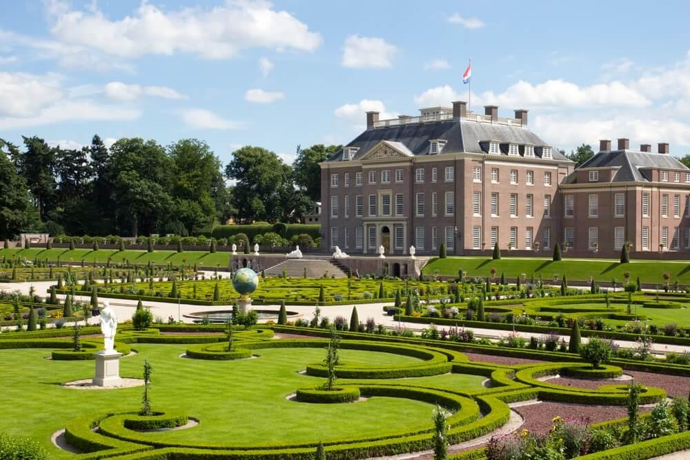 Paleis 'het Loo' en tuinen. Apeldoorn, Nederland