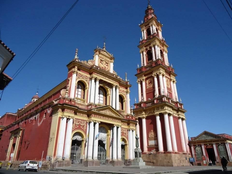 De Kathedraal van Salta stad in het historische centrum.