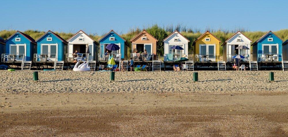 vakantiehuis aan strand