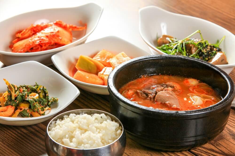 Koreaans eten - Rundvlees en rijstsoep