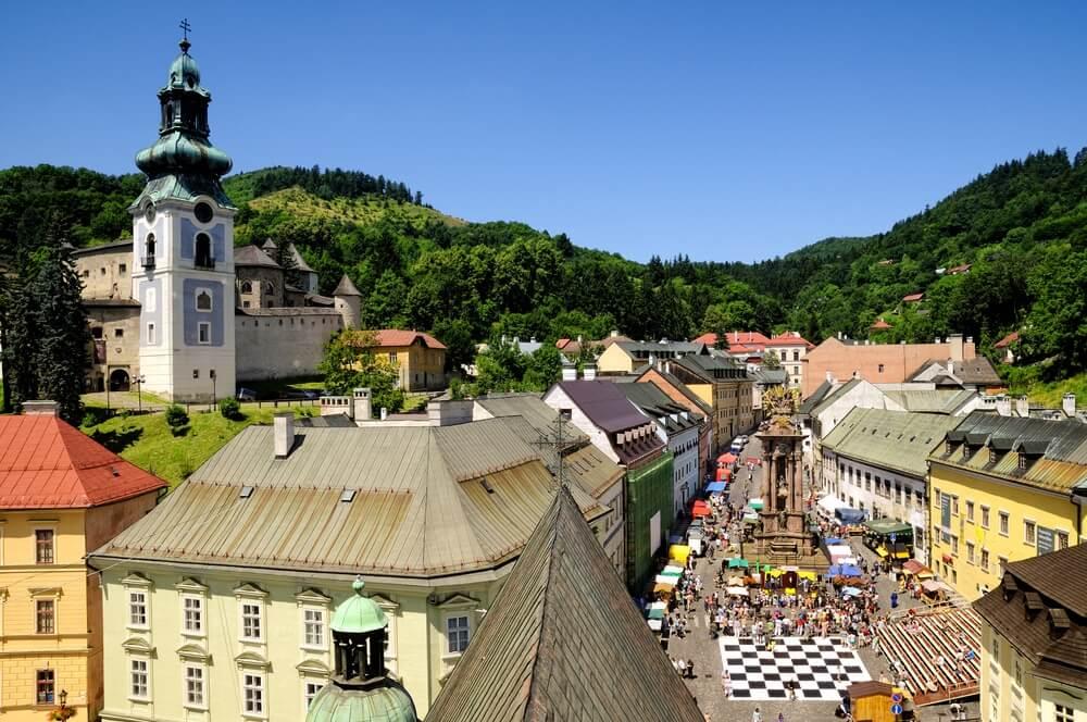 Banska Stiavnica, Slowakije.