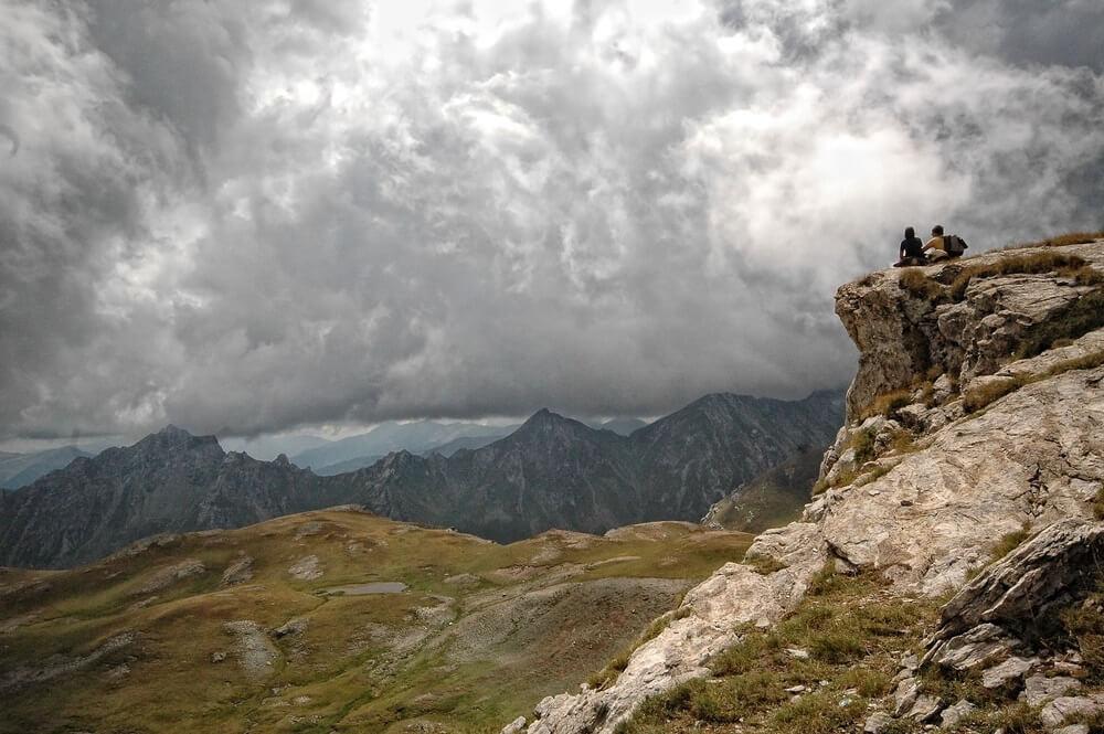 Mount Korab, Macedonië, Albanië, bergbeklimmen.