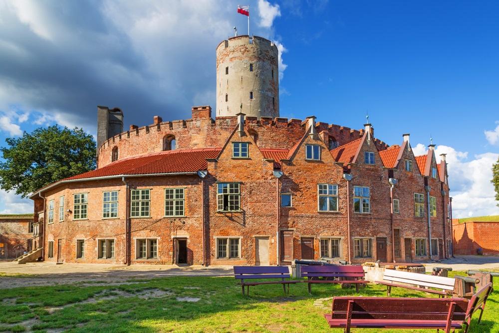 Wisloujscie fort in Gdansk, Polen.