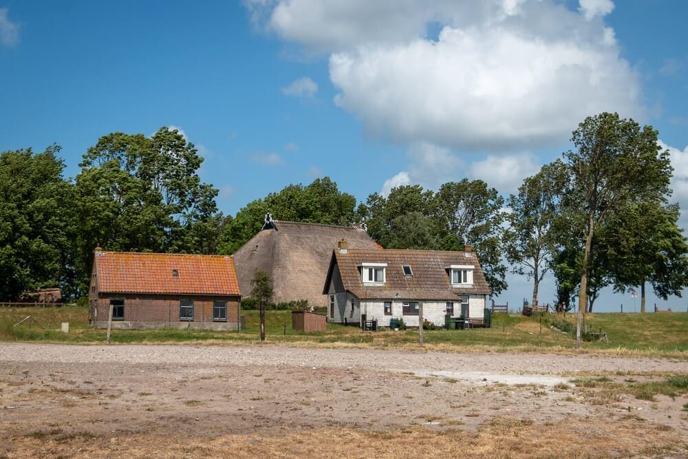 Laaksum het kleinste vissersdorp van Europa. Gevestigd in Nederland, provincie Friesland