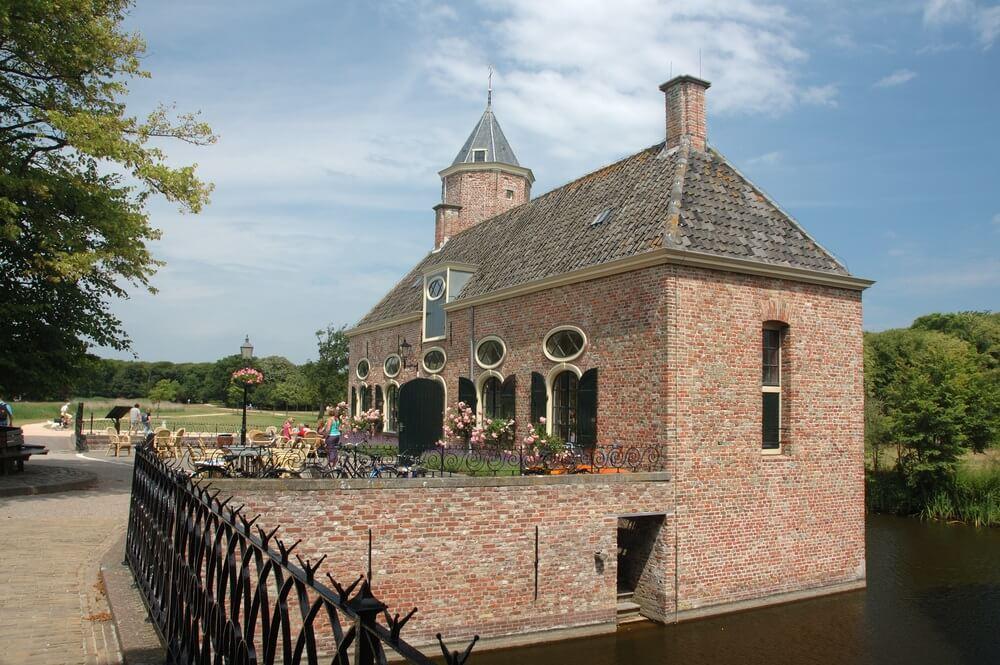 Herenhuis in Domburg, Nederland.
