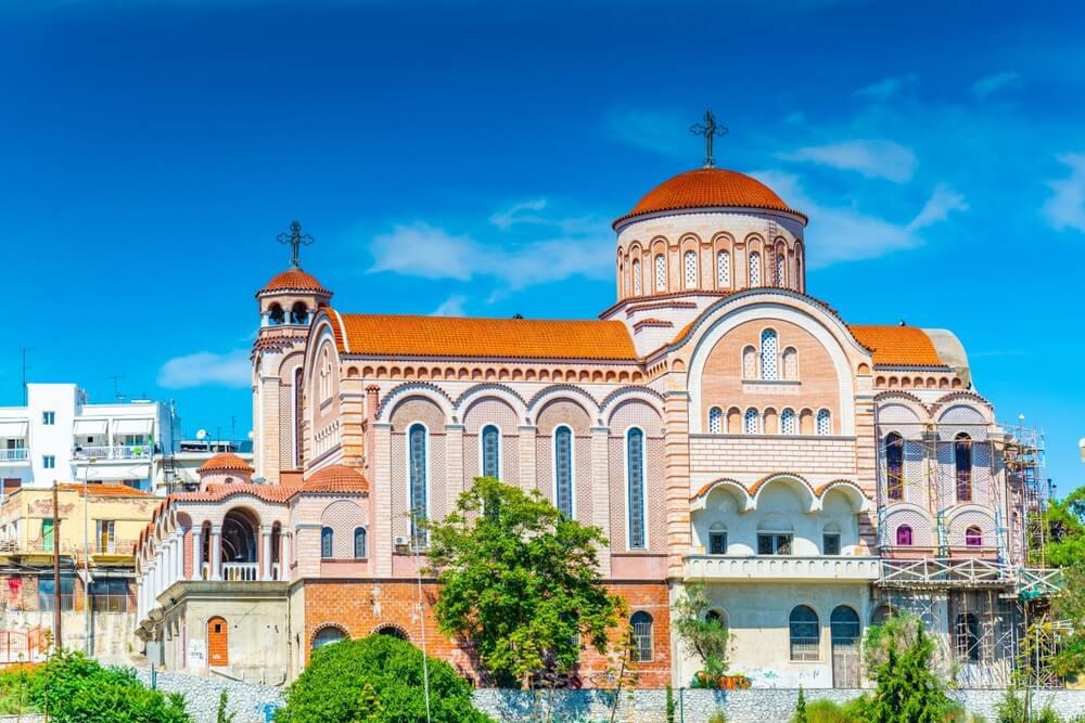 Agii Theodori kerk in Thessaloniki, Griekenland.