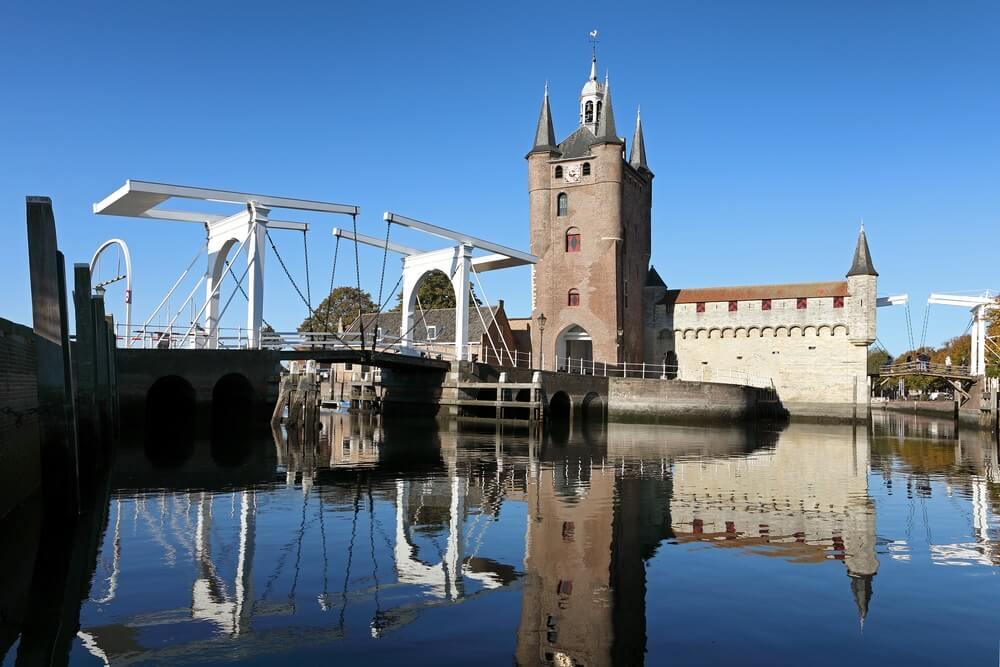 De stad Zierikzee in Nederland.