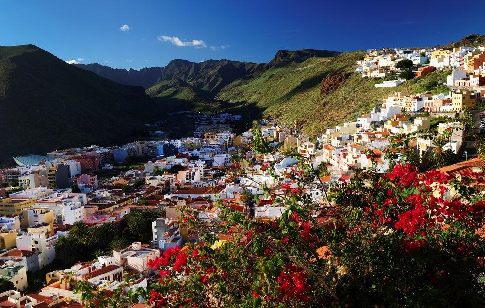 San Sebastian de la Gomera, Canarische Eilanden, Spanje.