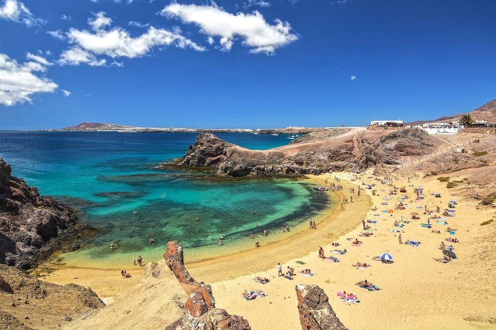 Papagayo Beach, Lanzarote.