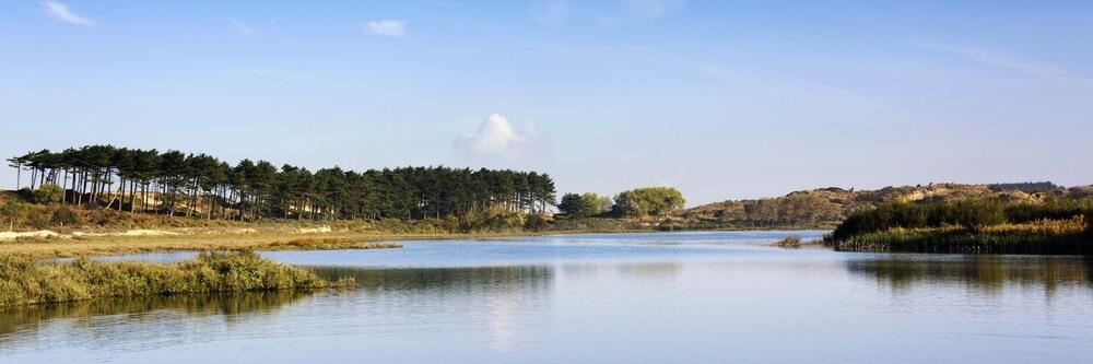 Het Vogelmeer in Nationaal Park Zuid-Kennemerland, Nederland.