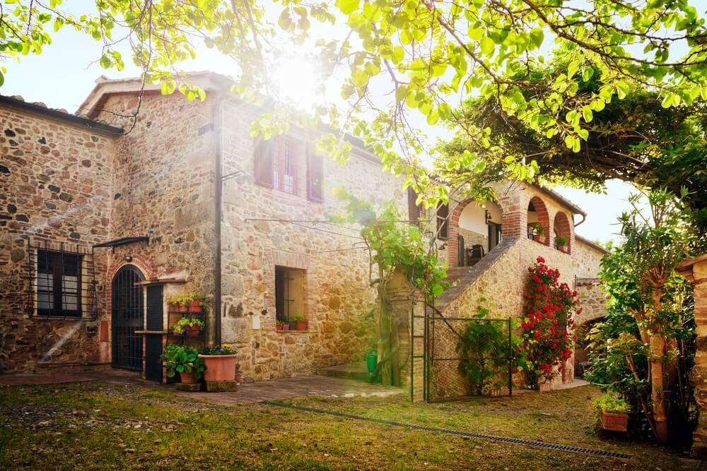 Prachtig groot vakantiehuis in Umbrië.