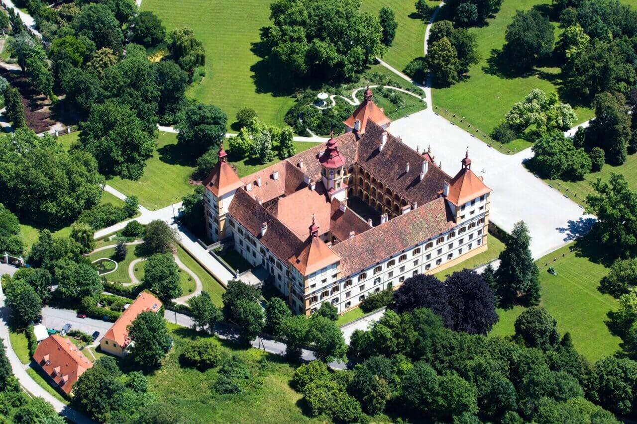 Het Eggenberg Paleis, Graz, Oostenrijk.