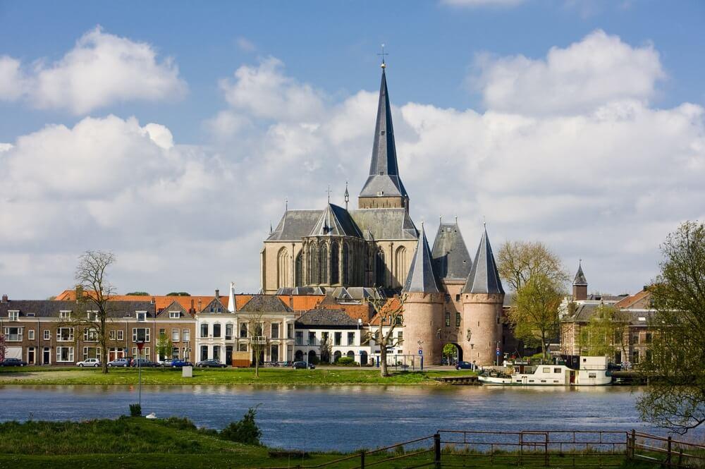 Kampen, Overijssel, Nederland.
