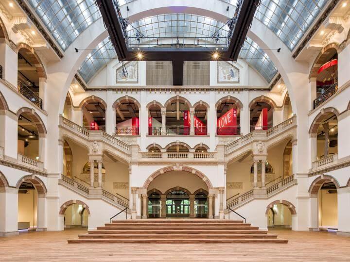 De lichthal in het Tropenmuseum van Amsterdam.