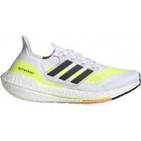 6. Adidas Ultraboost 21 Dames - Zwart Geel