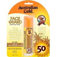 3. Australian Gold SPF 50 Face Guard Stick
