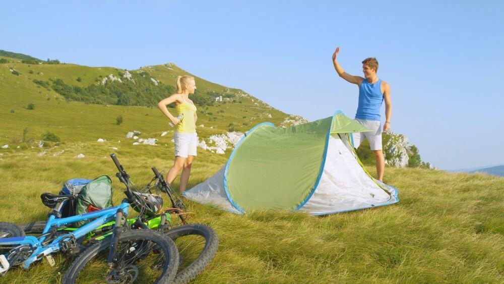 Beste pop up tent