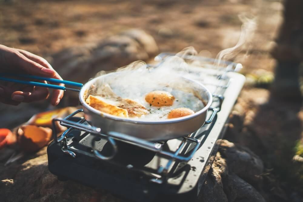 Kooktoestel camping