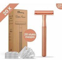 2. Bamboozy Safety Razor + 20 scheermesjes