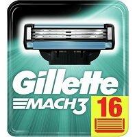 2. Gillette Mach 3 Base Mesjes 16 stuks
