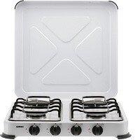 1. Gimeg Kooktoestel 4-Pits - Wit - Beveiligd