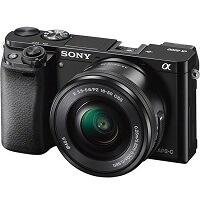 Sony A6000 + E PZ 16-50mm f 3.5-5.6 OSS - Zwart