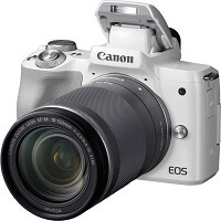 3. Canon EOS M50 + 18-150 mm - Wit
