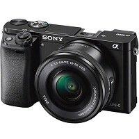 1. Sony A6000 + E PZ 16-50mm f 3.5-5.6 OSS - Zwart