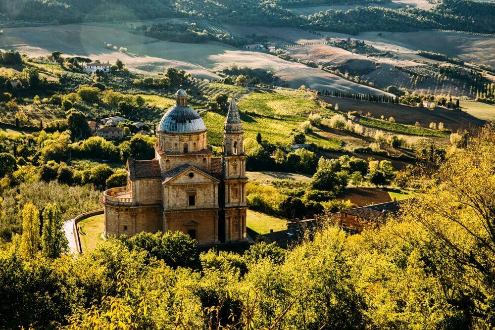 Montepulciano, Toscane, Italië