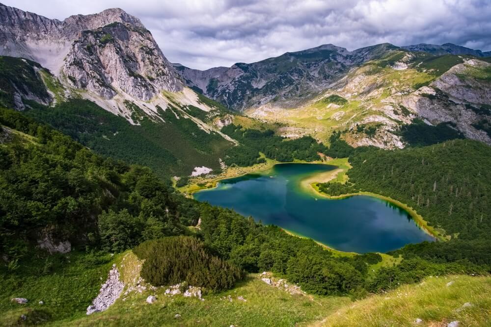 Trnovačko meer slovenie